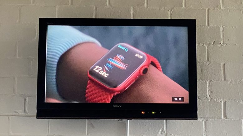 Die Apple Watch Series 6 als Product Red - IPad Watch Event
