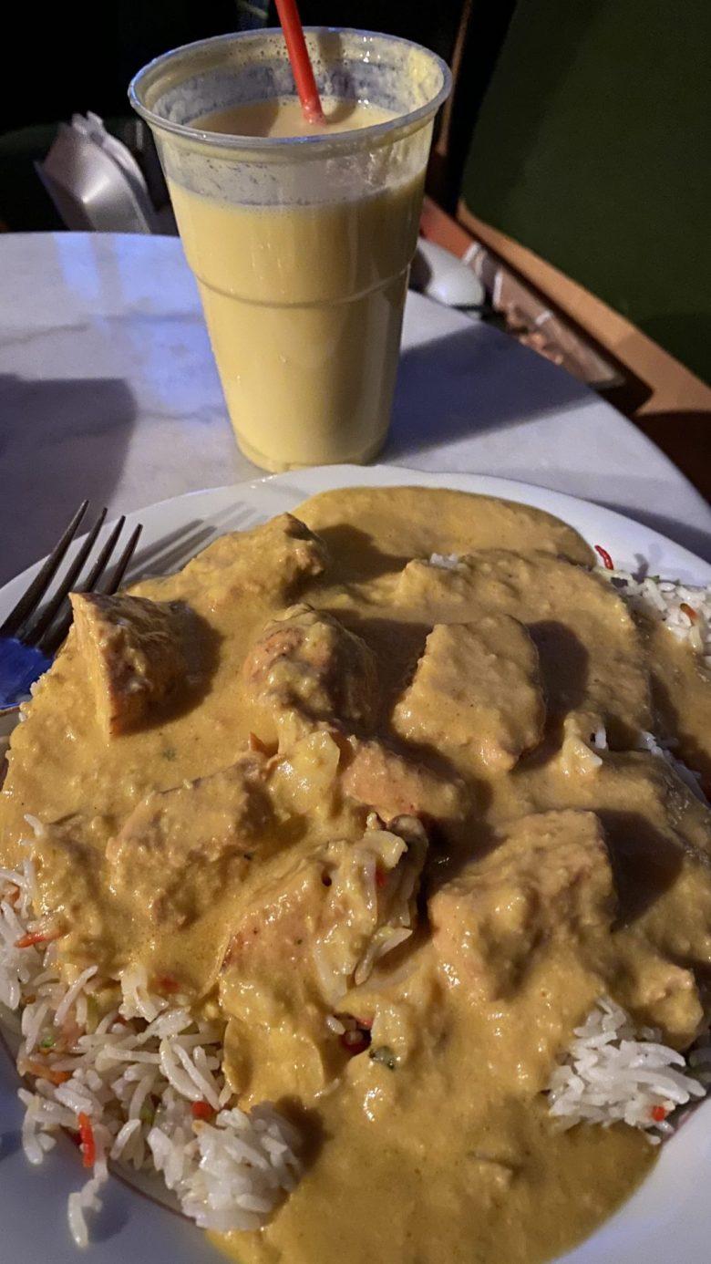 Mango Chicken und Mango Lassi