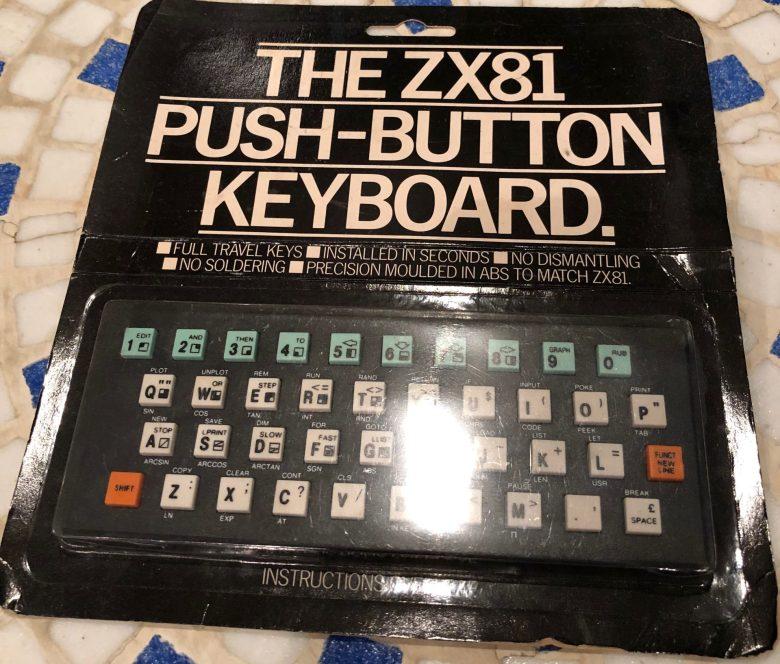 Eine Aufsatztastatur für den ZX81