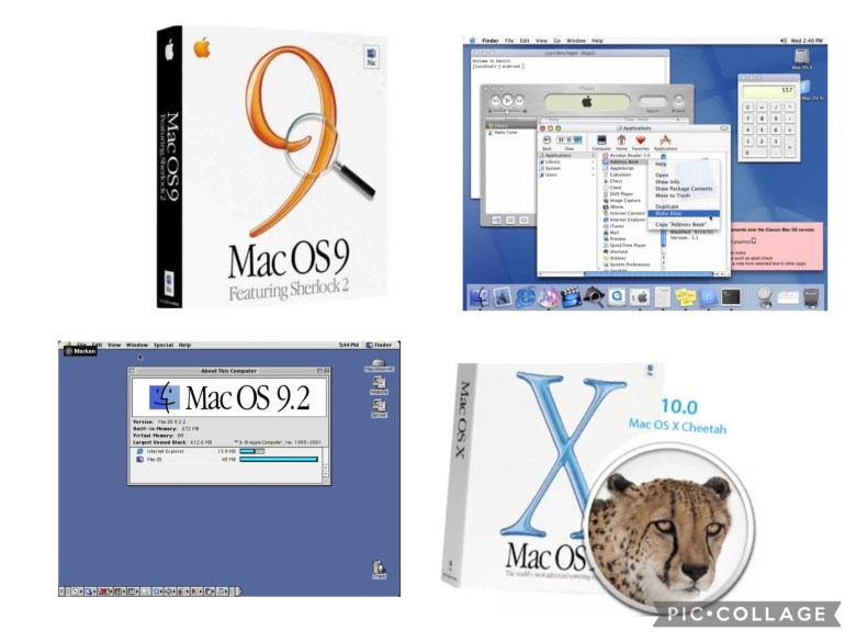 Classic Mac OS zu OS X