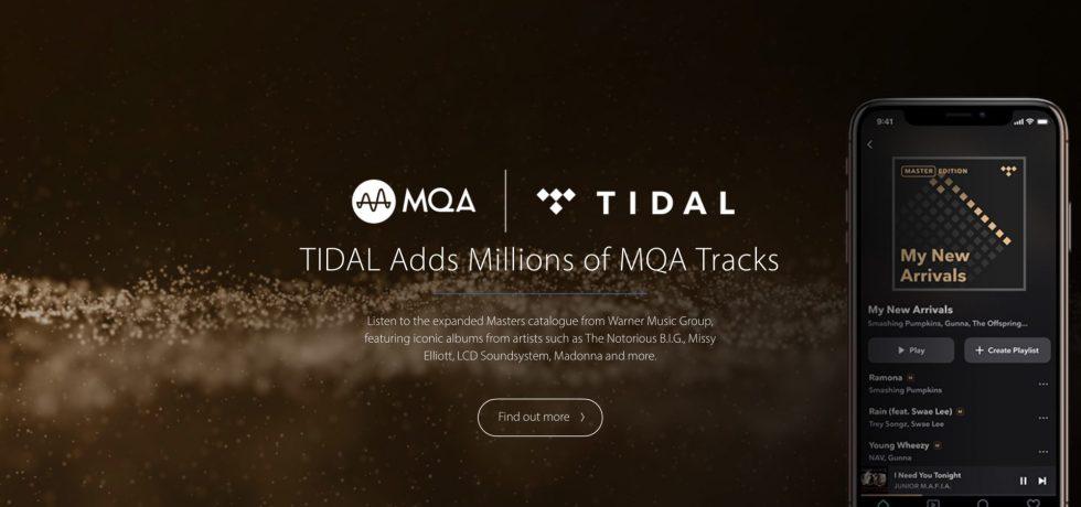 MQA und Tidal. Leider kein Lossless HighRes Audio Standard