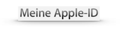Meine Apple-ID
