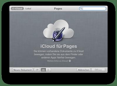 Wenn iCloud als Standard-Speicherort für Dokumente nervt [Update]
