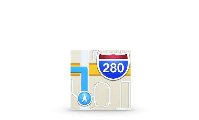Zoomen in der Karten App