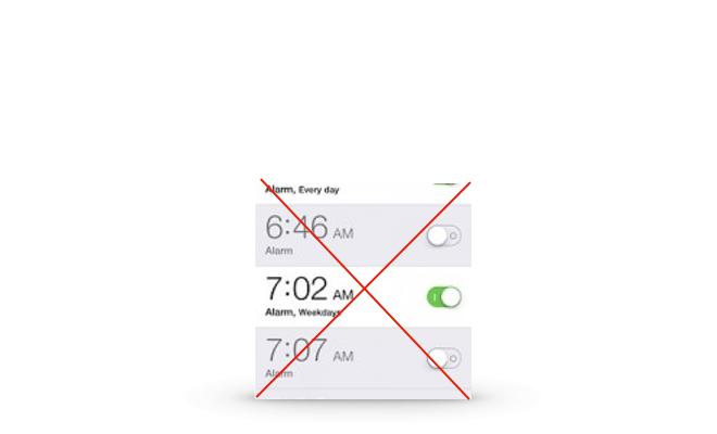 Siri: Lösche alle meine Wecker!