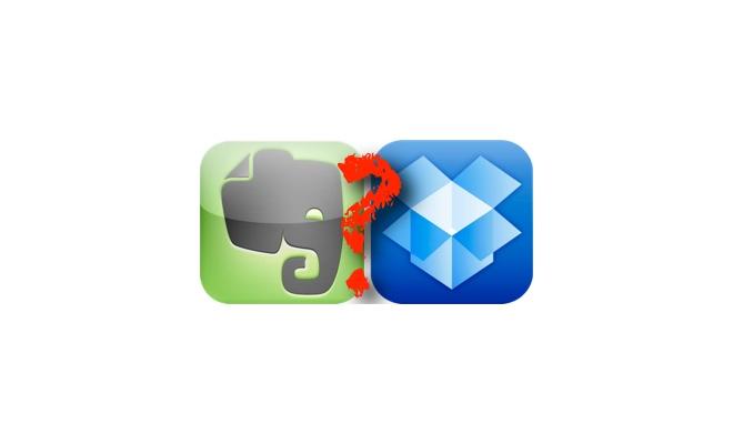 Evernote vs. Dropbox: Eine kurze Gegenüberstellung