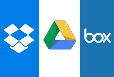 Dropbox, Box, Google Drive – Welchem Cloud-Dienst soll ich meine Dokumente anvertrauen?