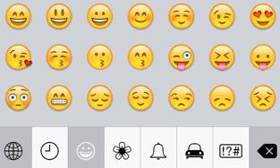Emoticons (Smilies) auf dem iPhone aktivieren