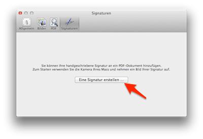 PDF signieren