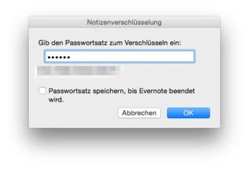 Gib das Passwort ein