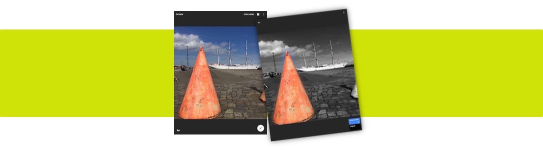 Color Splash Effekt mit Snapseed erzeugen
