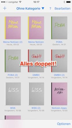 GoodNotes: Alles doppelt!