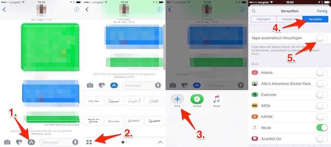 iOS 10 iMessage Plugins
