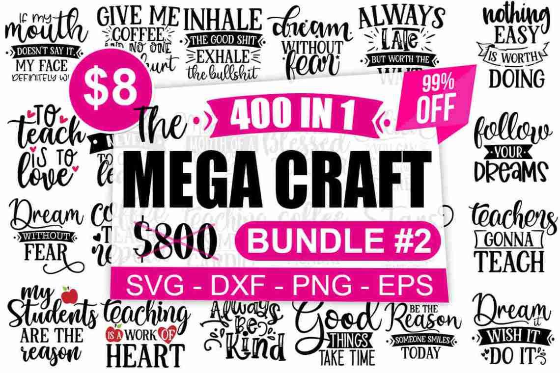 Download 1200 The Mega Craft Bundle - Vol 1-2-3 - Digitale SVG