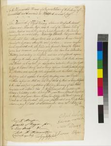 Elijah Wampey Letter To The Connecticut General Assembly