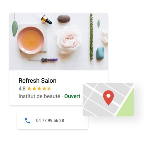 La géolocation Google maps DigitalFeeling