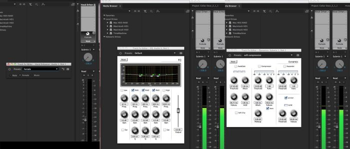 Audio mixing in Premiere Pro CC