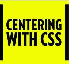 center elements with css