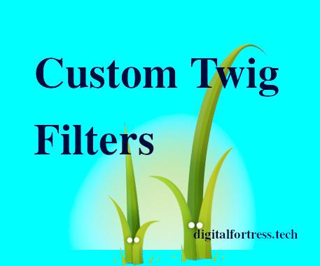 Custom Twig Filters
