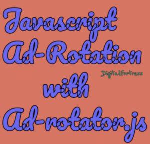Ad rotator in javascript