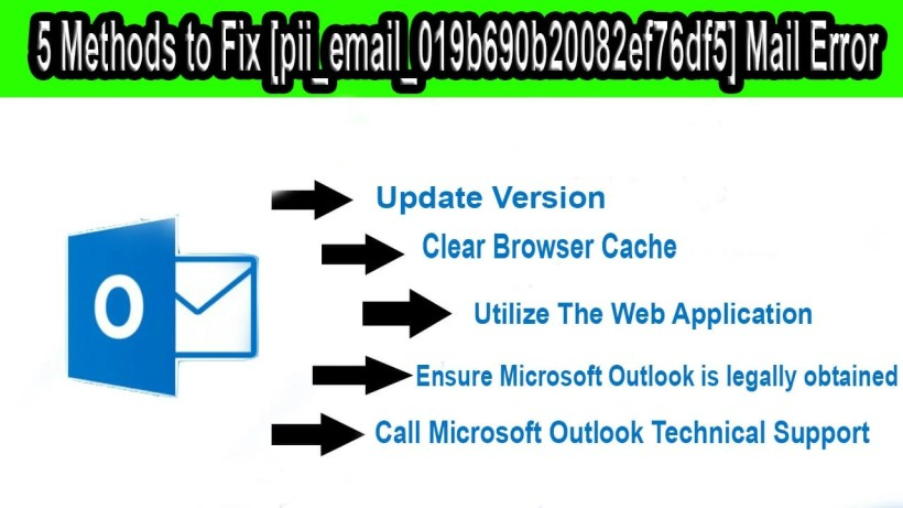 [pii_email_019b690b20082ef76df5] And 5 Quick Methods To Fix