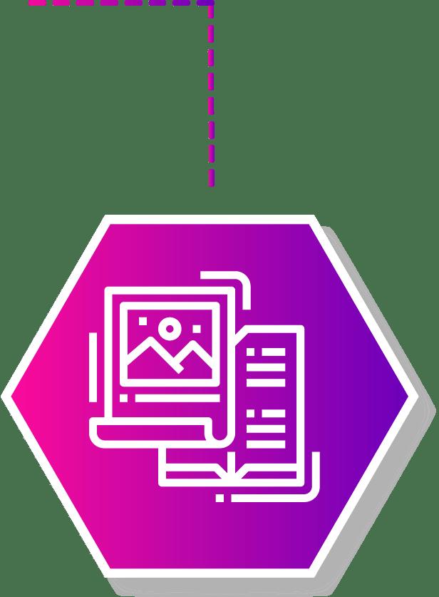 content writing copywriting service icon