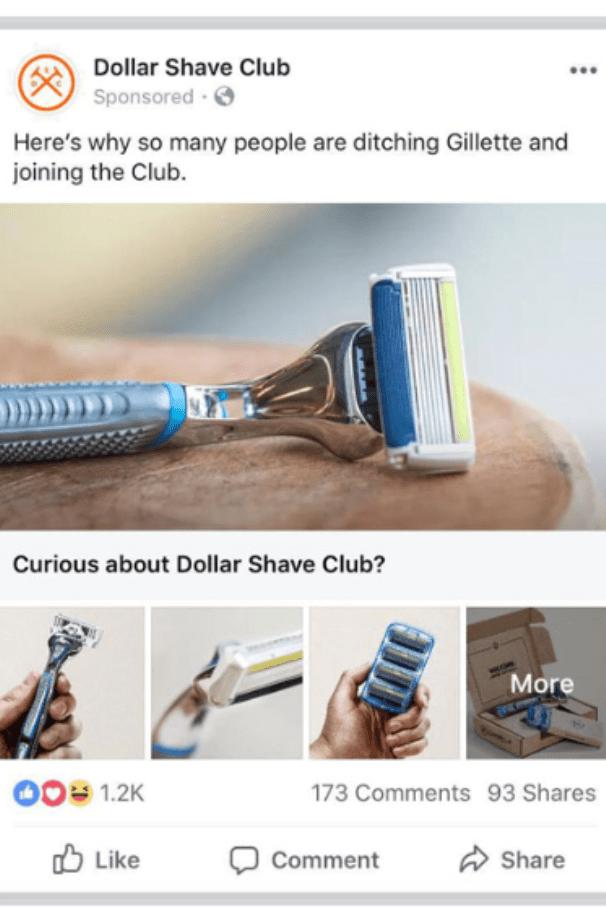 Dollar Shave Club - Playing on Curiosity