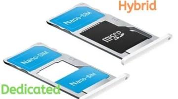 Hybrid Sim Slot-हाइब्रिड सिम स्लॉट क्या होता है?