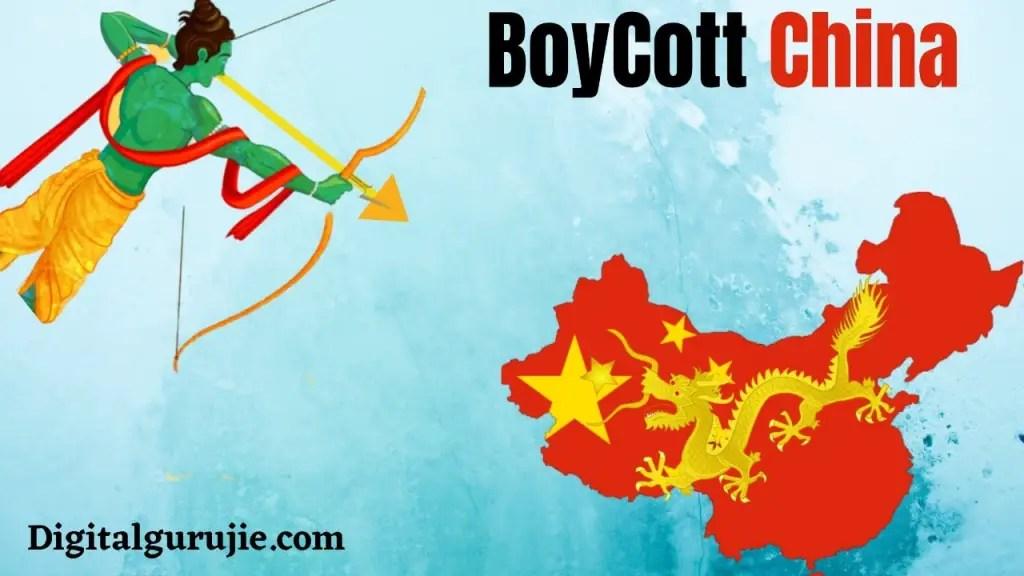 Boycott China-Chinese App list