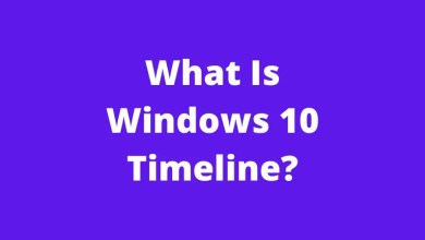 What Is Windows 10 Timeline?
