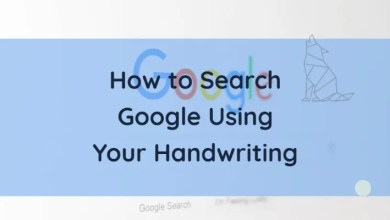 How to Search Google Using Your Handwriting