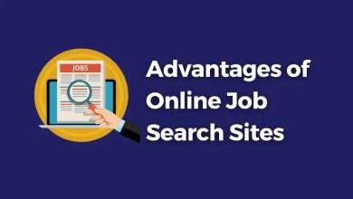 Advantages of Online Job Search Sites