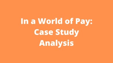 In a World of Pay: Case Study Analysis