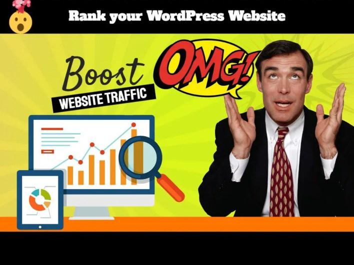 boost wordpress website