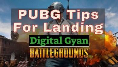 pubg tips for landing