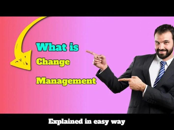 change management explained