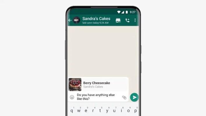 catelog feature in whatsapp
