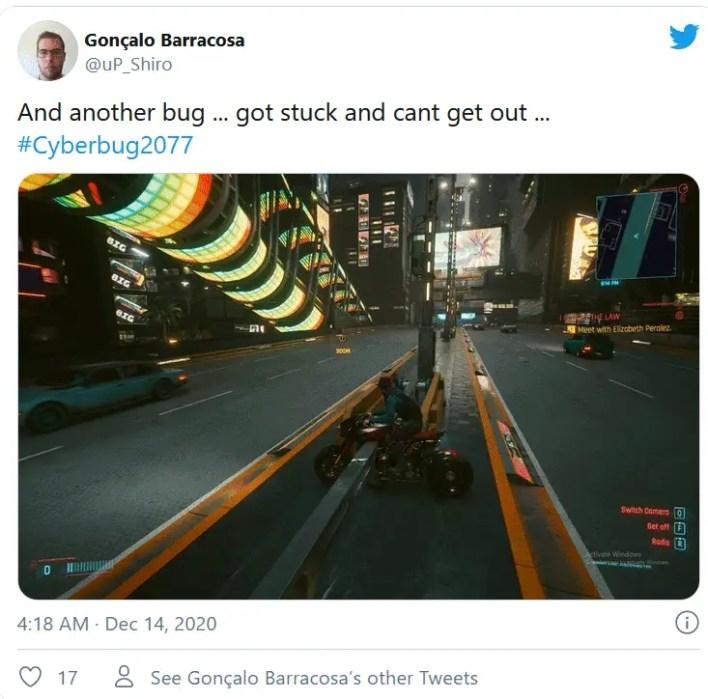 tweet for cyberpunk