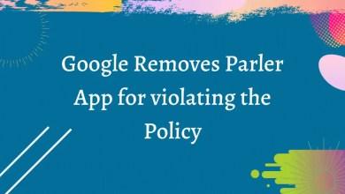 google remove parler app