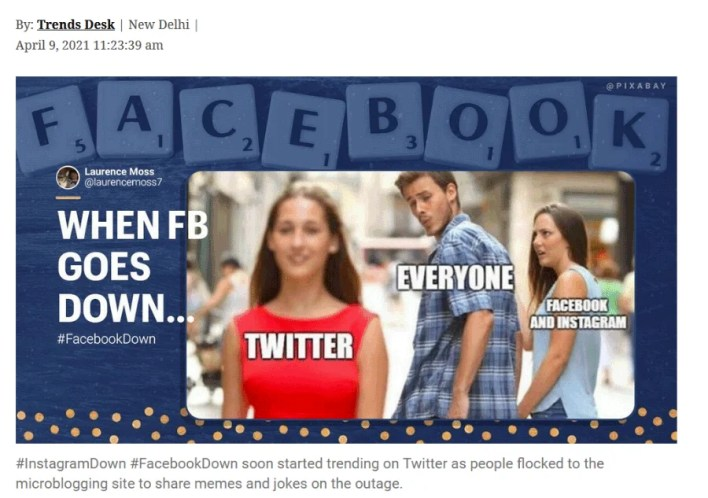 Twitter wins as Facebook, Instagram and WhatsApp suffer another global outage
