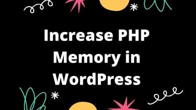 increase php memory in wordpress
