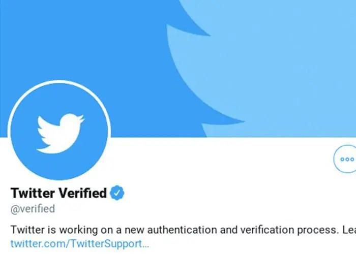 twiitter verified account