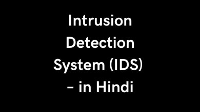 Intrusion Detection System (IDS) – in Hindi
