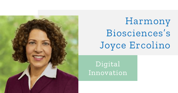 Interview: Digital Innovation with Harmony Biosciences's Joyce Ercolino - June 2019