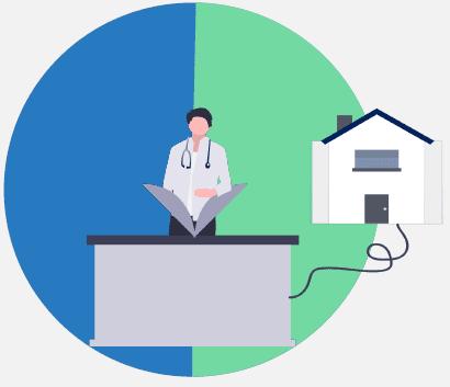 home based tests graph - precision medicine