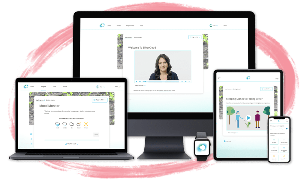 SilverCloud Health Digital Mental Health Care Platform