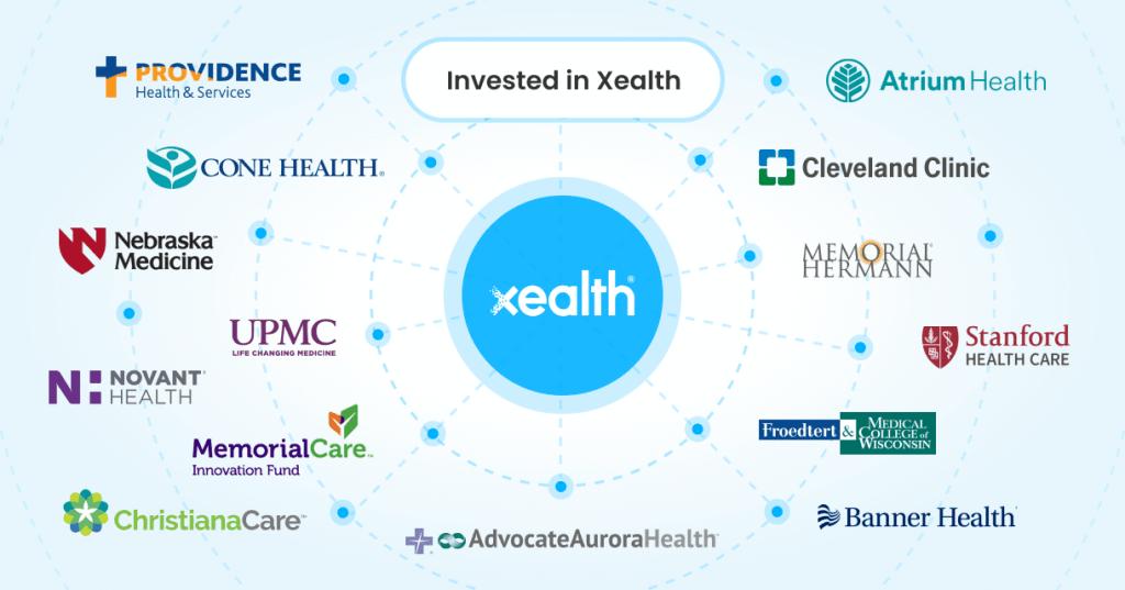 Xealth Series B funding digital health