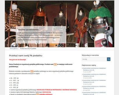 Klient: Nasielska Fundacja Wspierania i Rozwoju Edukacji Zakres prac: Wykonanie serwisu www opartego na CMS WordPress, usługi hostingowe. Technologie: php, html, mysql, jquery. Adres: www.fundacjaszkola.nasielsk.pl