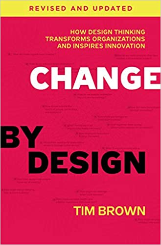 Book cover of Change by Tim Brown.