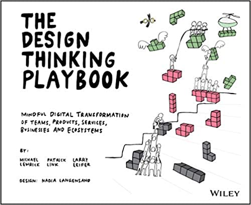 Cover of 'The Design Thinking Playbook'.